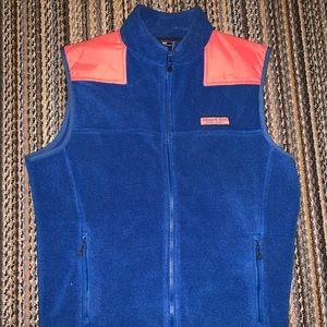 Vineyard Vines Fleece Vest - Men's Size Small